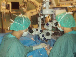 dr.sukant pandey eye doctor specialist during surgery